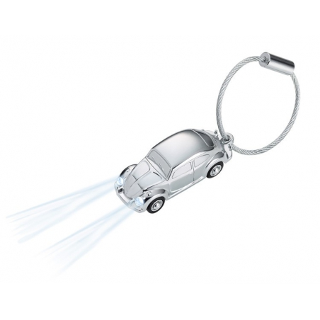 Breloczek do kluczy samochód LED marki TROIKA Light Beetle 1964