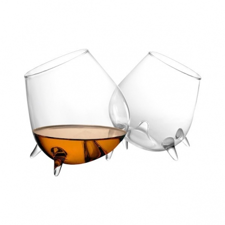 Zestaw szklanek do koniaku, whisky Final Touch