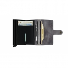Portfel Miniwallet Vintage Grey - Black SECRID