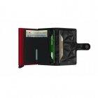 Portfel Miniwallet Prism Black - Red SECRID