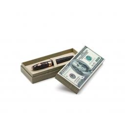 Pióro wieczne Montegrappa Ca$h, stalówka F, różowe złoto