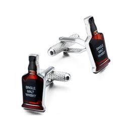 Zestaw spinek do mankietów Whisky Onyx-Art London.