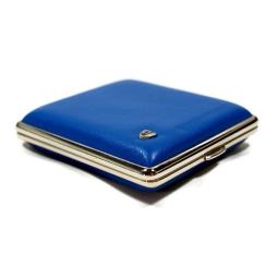 Niebieska papierośnica na klasyczne papierosy V.H Collection