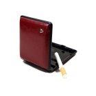 Papierośnica na klasyczne papierosy V.H Collection bordo
