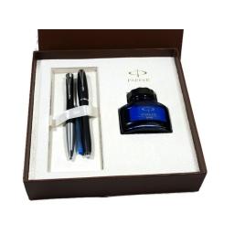Zestaw prezentowy Parker z piórem wiecznym i długopisem Urban Fashion black mat
