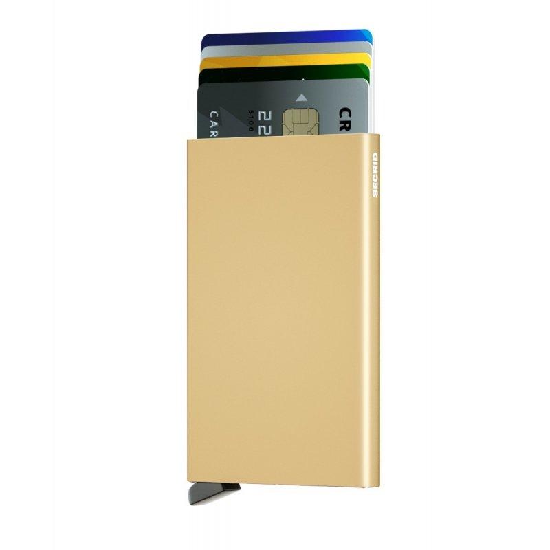 Etui na karty Cardprotector gold