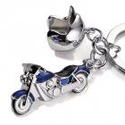 Brelok dla motocyklisty niebieski TROIKA Key Cruising