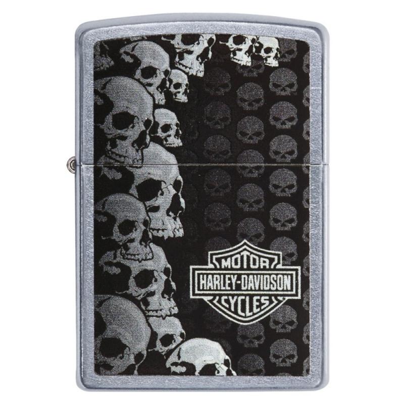 Zapalniczka Zippo Harley-Davidson czaszki