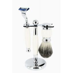 Zestaw do golenia 3w1 Style biały Sarome