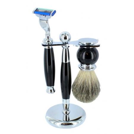 Zestaw 3 elementowy do golenia Sarome