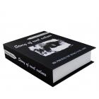 Piersiówka w książce 180ml