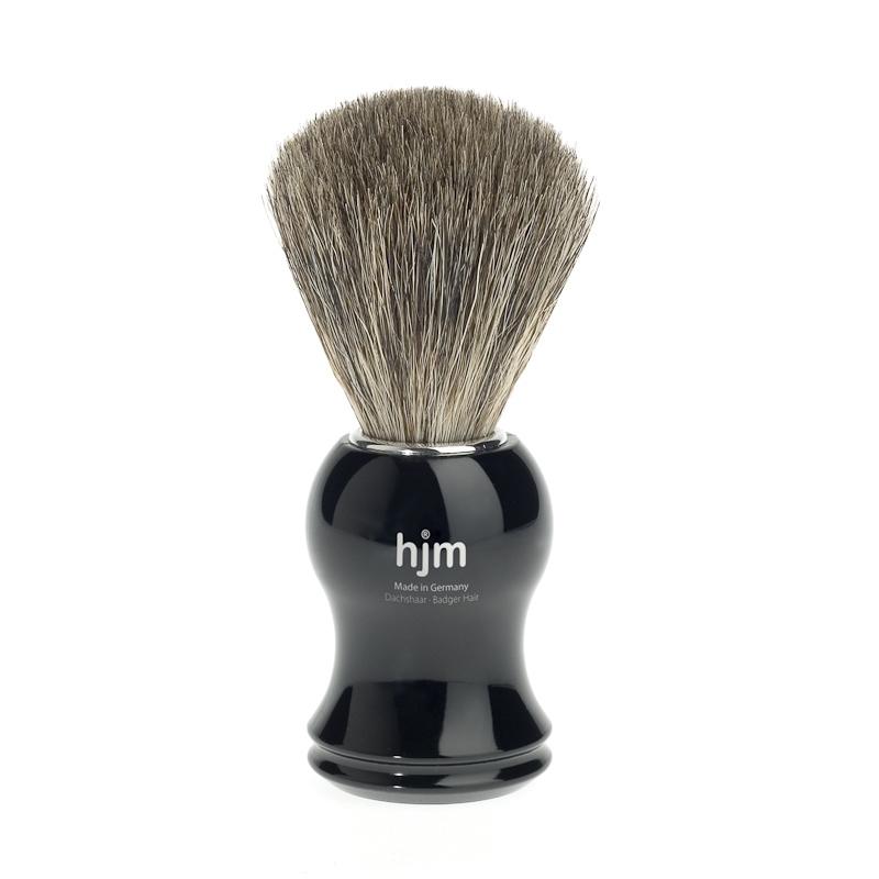 Pędzel z włosiem borsuka czarny 81P3S