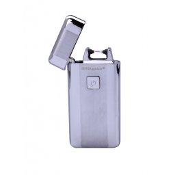 Zapalniczka plazmowa srebrna Silver Match
