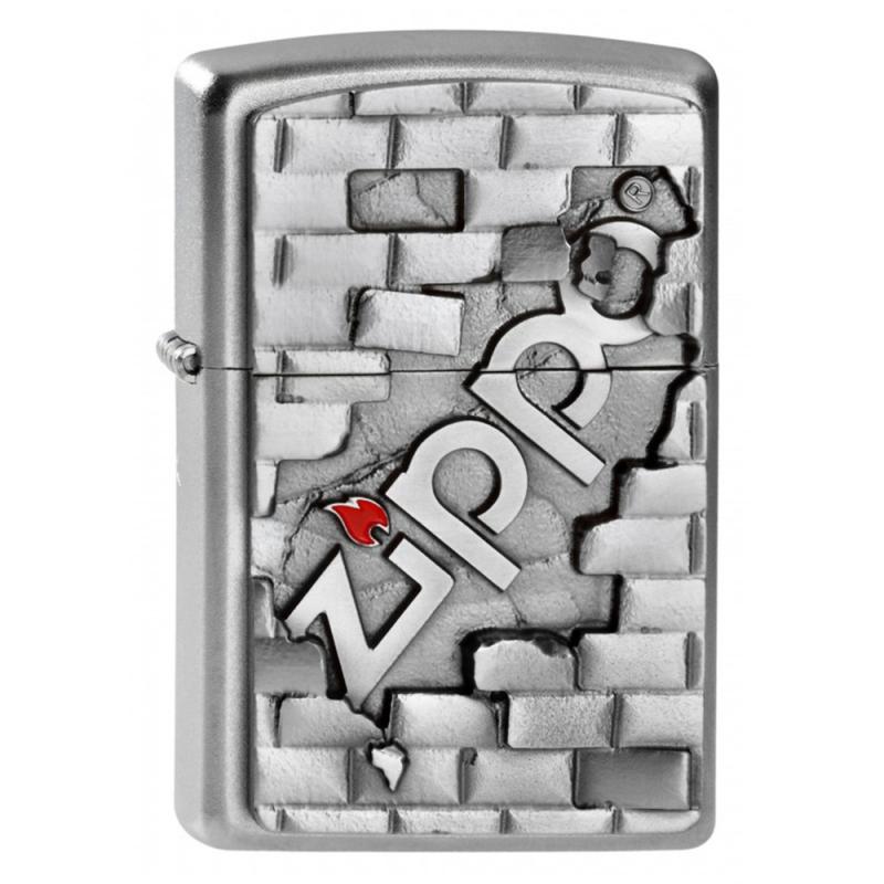 Zapalniczka Zippo The Wall emblemat