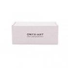 Spinki do mankietów Granat Onyx-Art London