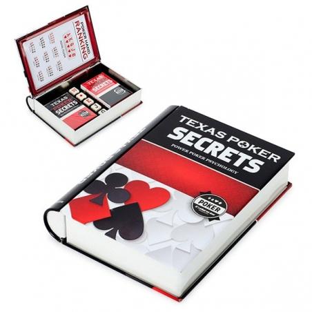 Zestaw do gry w pokera w książce Balvi Gifts