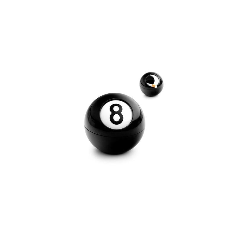 Popielniczka Bila czarna nr 8 Balvi Gifts