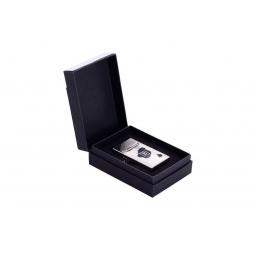 Zapalniczka Balmain Bluflame srebrny połysk