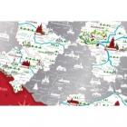 Mapa zdrapka Travel Map Polska