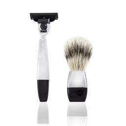Zestaw na stojaku do golenia z miską MACH3