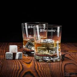 Zestaw miłośnika whisky Who cares