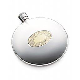 Piersiówka ze złotym logo DALVEY