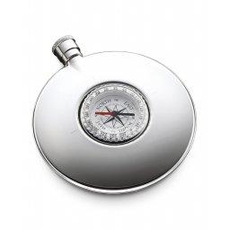 Piersiówka z wbudowanym kompasem Dalvey
