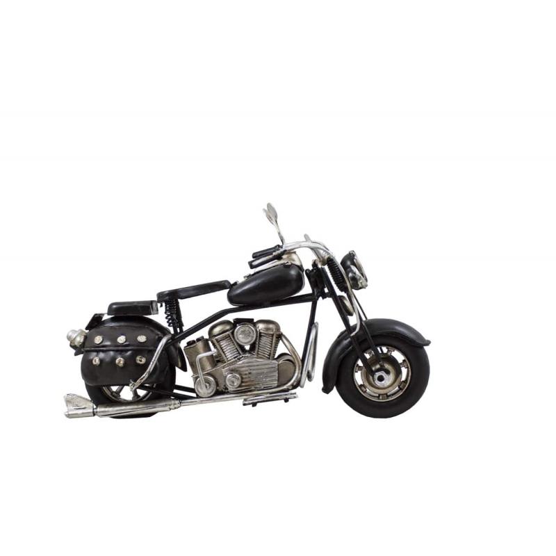 Motor retro replika czarny
