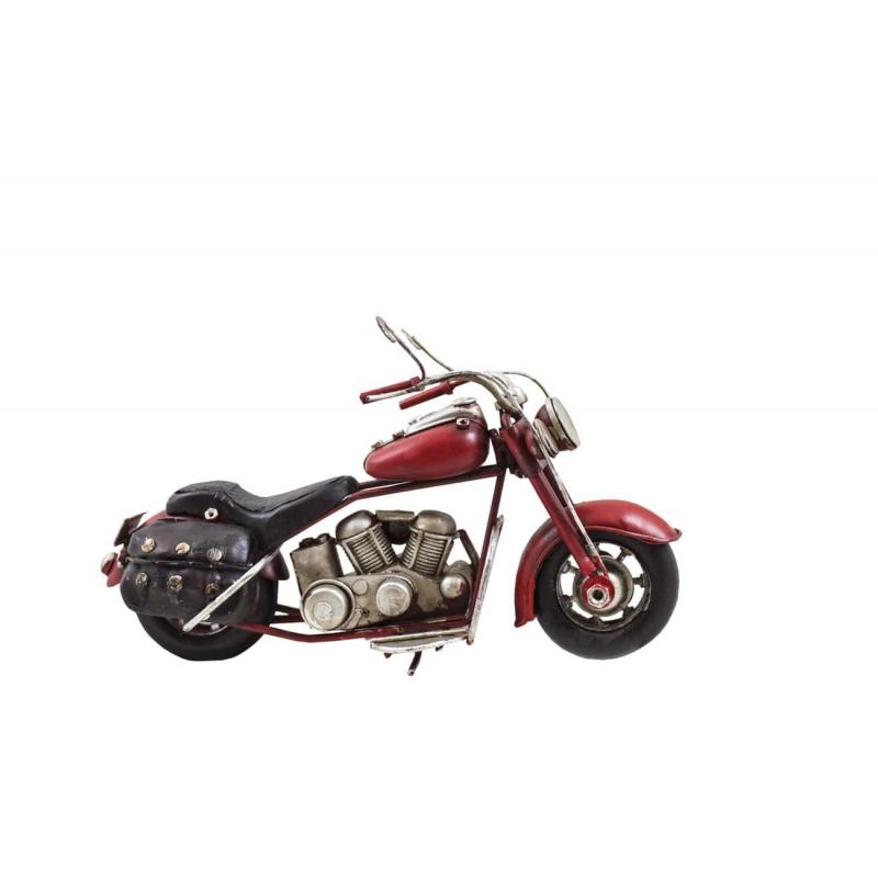 Motor retro replika czerwony
