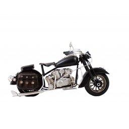 Replika motocykla retro czarny