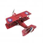 Samolot dwupłatowy replika retro