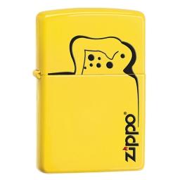 Zapalniczka Zippo Logo Lemon