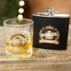 Zestaw szklanka i piersiówka Widdop