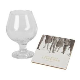 Zestaw prezentowy kieliszek do brandy z podstawką Emporium WIddop