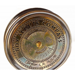 Kompas z zegarem wiecznym Emporium - Widdop