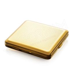 Złota papierośnica na klasyczne papierosy V.H Collection