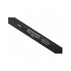 Czarny pasek skórzany AUTFH8026 Pierre Cardin