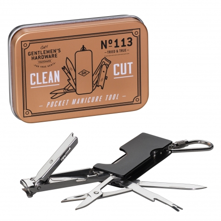 Mini zestaw do manicure dla mężczyzn Gentlemen's Hardware