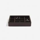 Pudełko na spinki do mankietów czekoladowe Stackers