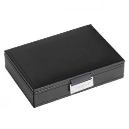 Zamykane pudełko na spinki do mankietów czekoladowe Stackers