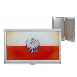 Wizytownik Flaga Polski z godłem