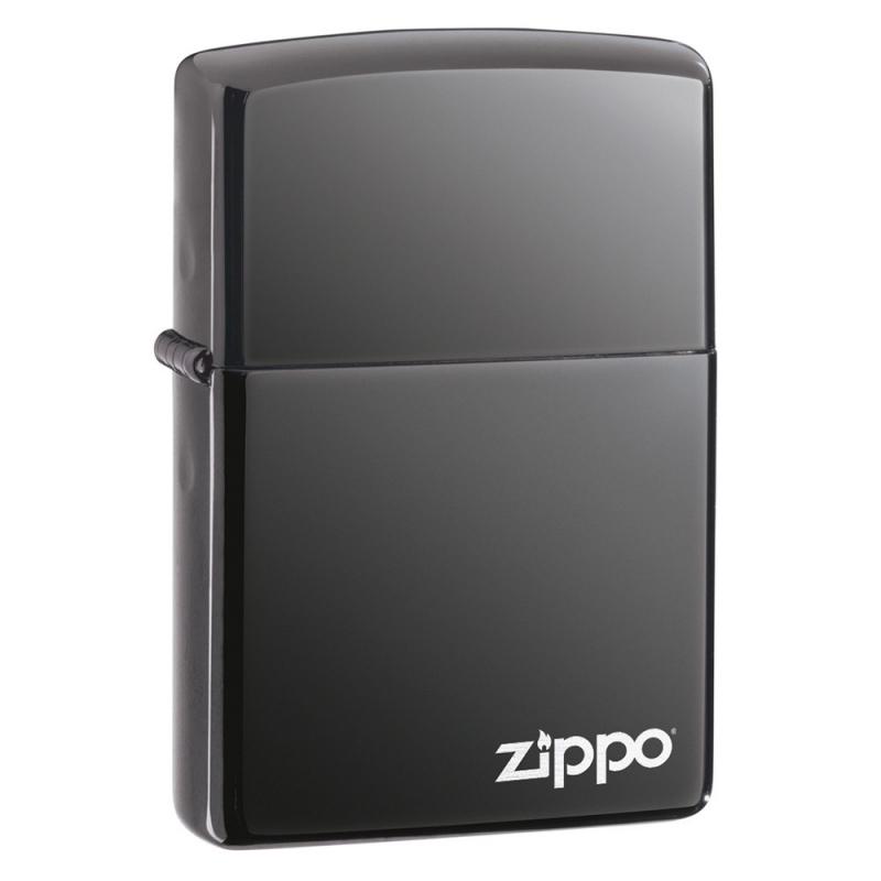 Zapalniczka Zippo Black Ice, Zippo Logo