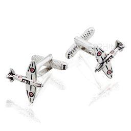 Spinki do mankietów Samolot Spitfire