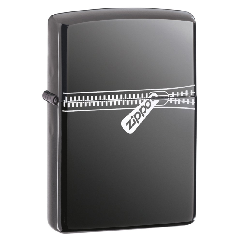 Zapalniczka Zippo Zipper, Black Ice