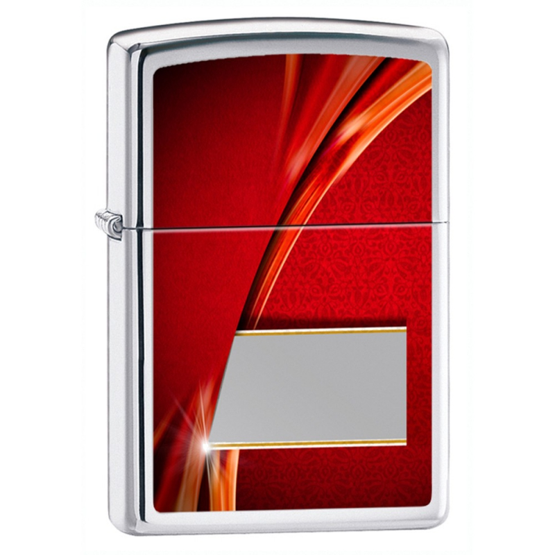 Zapalnika Zippo Luxury Red, High Polish Chrome