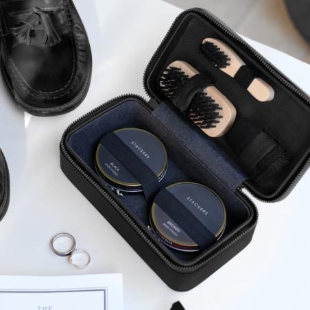 Zestaw do czyszczenia obuwia czarny Stackers