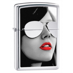 Zapalniczka Zippo Sunglasses, High Polish Chrome
