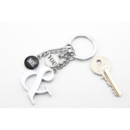 Brelok do kluczy YOU & ME TROIKA