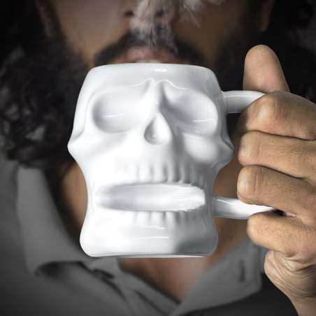 Kubek czaszka biały Balvi Gifts