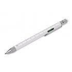 Wielozadaniowy długopis Construction White TROIKA